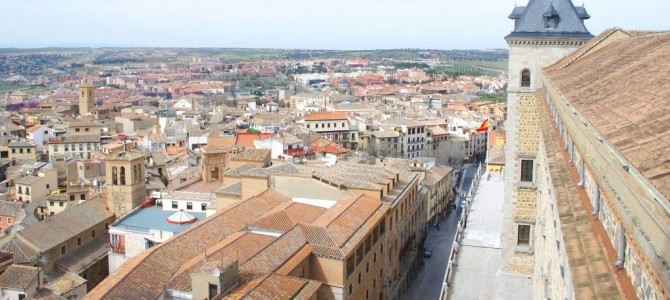 魅力的な町トレドに行って観光してきた in スペイン