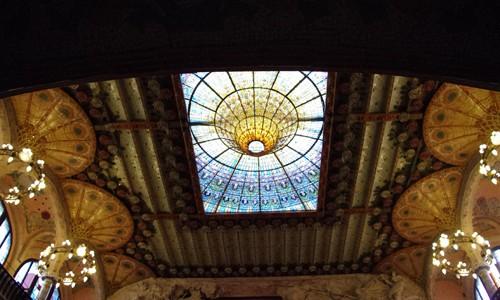 色合い豊かなカタルーニャ音楽堂へ行ってきた in バルセロナ