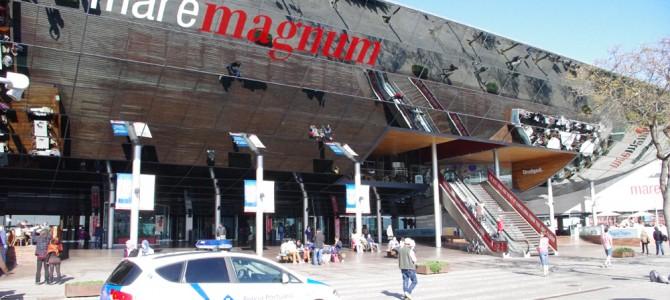 バルセロナのマレマグナムでショッピング in スペイン
