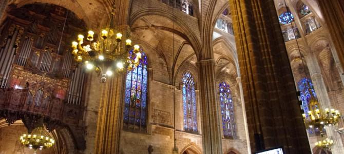 ゴシック地区のカテドラルを観光してきた in バルセロナ