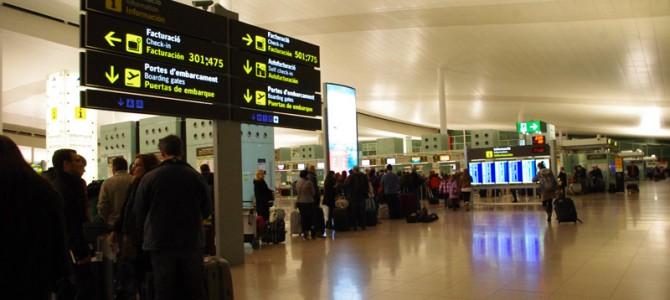 バルセロナのエル・プラット国際空港について