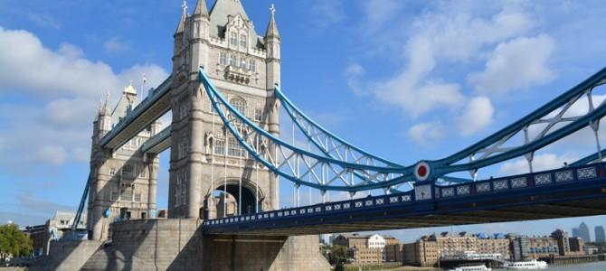タワーブリッジの展示ときれいな夜景を観光してきた in ロンドン
