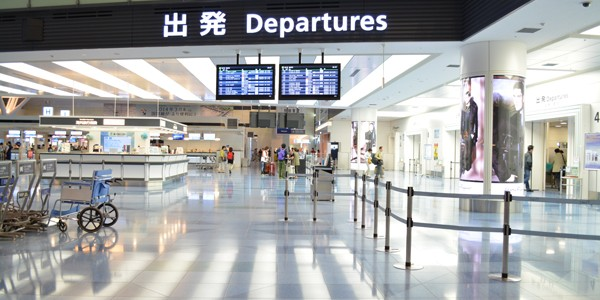 羽田空港から海外に飛び立ってきた!