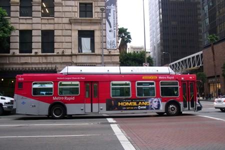 ダウンタウンからサンタモニカへのバスでの行き方 in ロサンゼルス