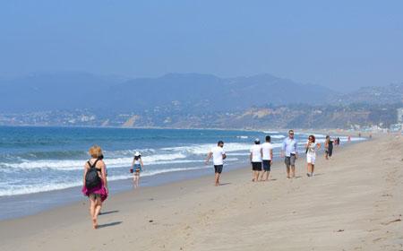 サンタモニカのビーチと遊園地を観光してきた in ロサンゼルス