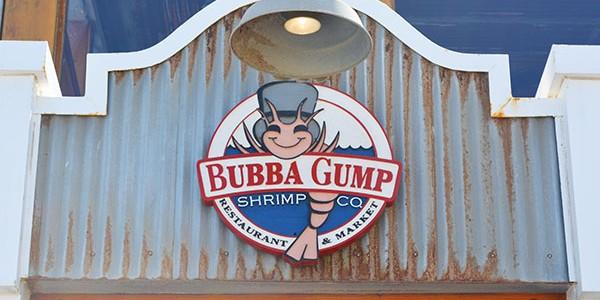 サンタモニカのBUBBA GUMPでランチを食べて来た