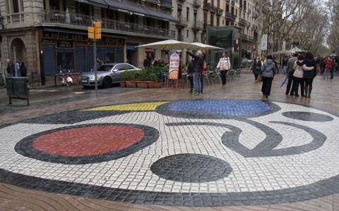 ランブラス通り周辺でアートを観光 in バルセロナ