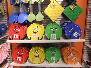 M&M'sストアへお土産を買いに行って来た in ニューヨーク