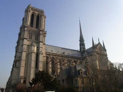 ノートルダム大聖堂へ行ってきた in パリ