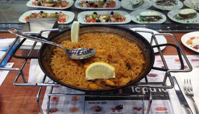 TapaTapaでスペイン料理を食べて来た in バルセロナ