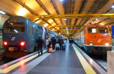 フィウミチーノ空港からローマ市内(テルミニ駅)への行き方