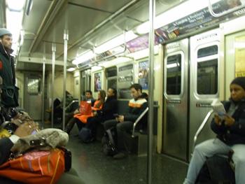 ニューヨークの地下鉄の治安について(乗った感想)