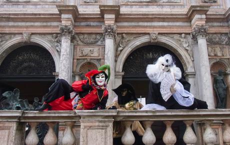 ベネチアの仮面舞踏会(マスカレード)を見て来た in イタリア