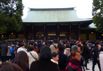 明治神宮と東郷神社へ初詣に行って来た in 原宿