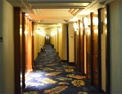 パンダホテル_廊下
