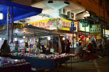 女人街と男人街を散策してきた! in 香港