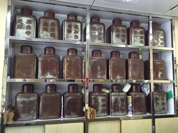 香港でお茶を買う at 林品珍茶行