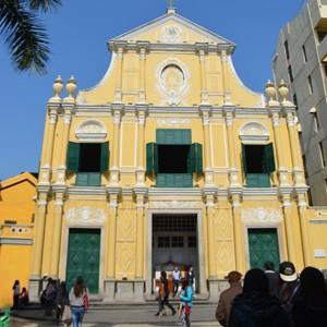 聖ドミニコ教会を見て来た! in マカオ