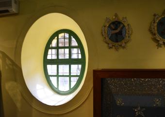 聖ドミニコ教会の窓