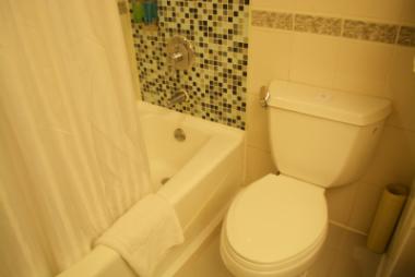 パンダホテル 浴室