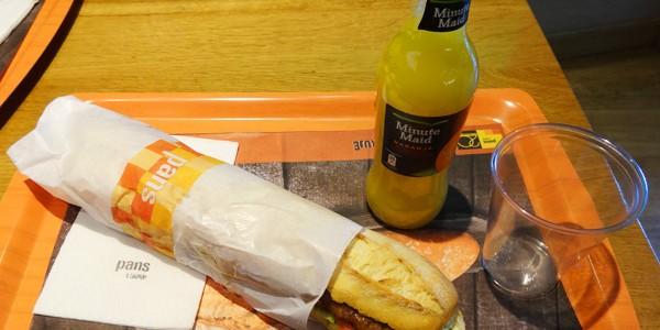 PANS(パンズ)でランチを食べてきた! in バルセロナ