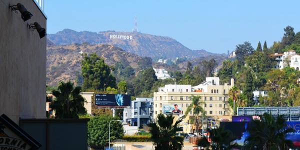 ハリウッドサインを遠目に見てきた!! in LA