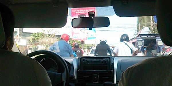 セブ島でのタクシー移動についての感想 in フィリピン