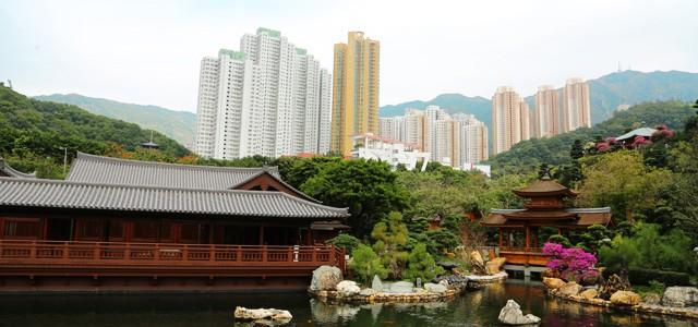 南蓮園池へ行ってきた in 香港