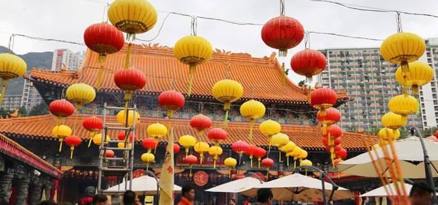 縁結びの神様のいる黄大仙へ行ってきた in 香港