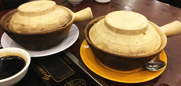 香港で煲仔飯(ボージャイファン)を食べてきた at 嚐囍煲仔小菜