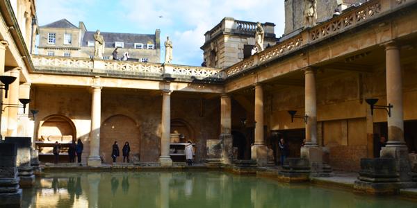 The Roman Bathsへ行ってきた in イギリス