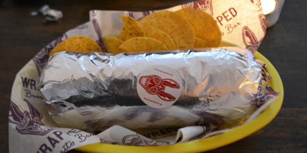 Wrapped Burrito Barでブリトーを食べてきた at ヨーテボリ