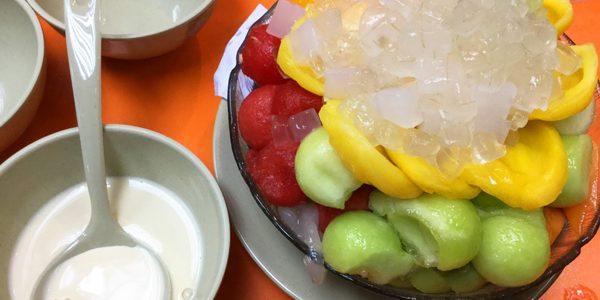 佳記甜品でB仔涼粉を食べてきた in 香港