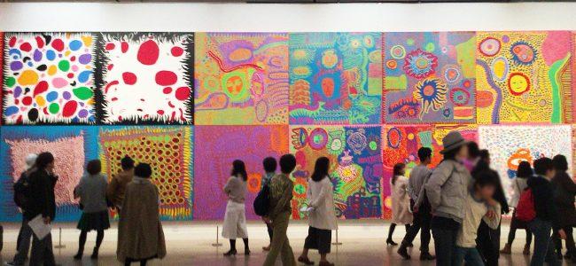 草間彌生「わが永遠の魂」を見てきた at 国立新美術館
