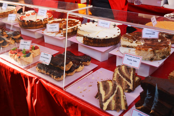 ボロウマーケット ケーキ