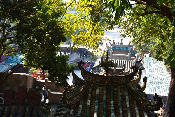 媽閣廟 上からの景色