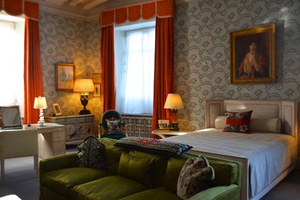 キャサリンのベッドルーム