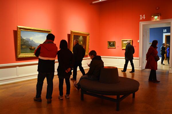 オスロ 国立美術館