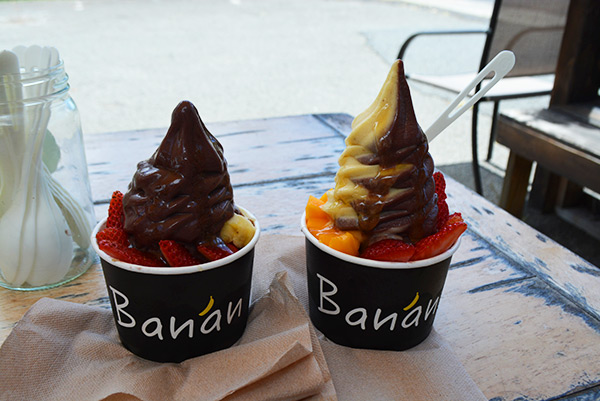 banan icecream