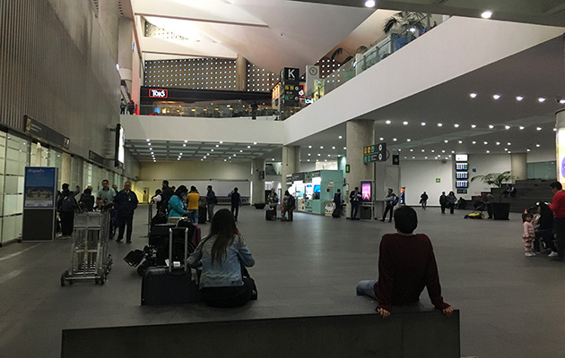 terminal2 at Mexico city