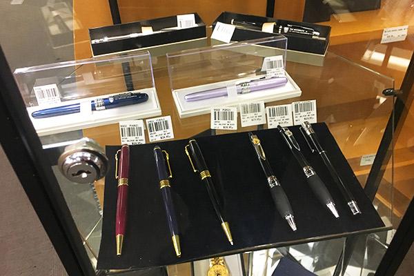 UBC bookstore pens