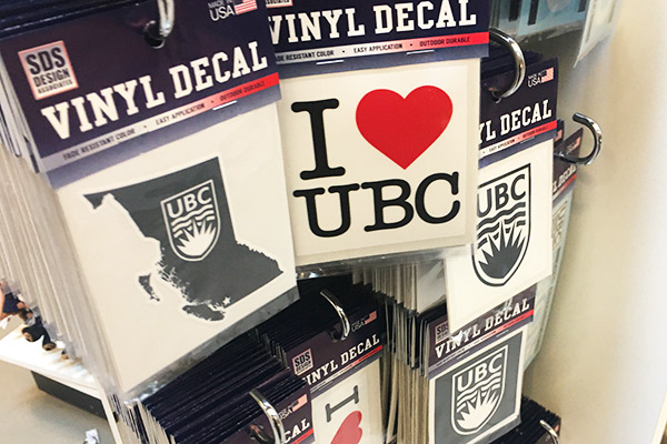 UBC bookstore stecker