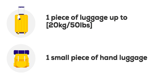 Megabus luggage