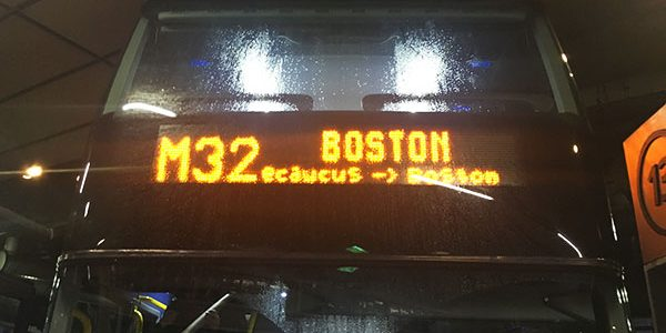 Mega Busの予約と乗った感想 in アメリカ