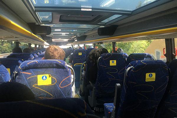 Megabus seat