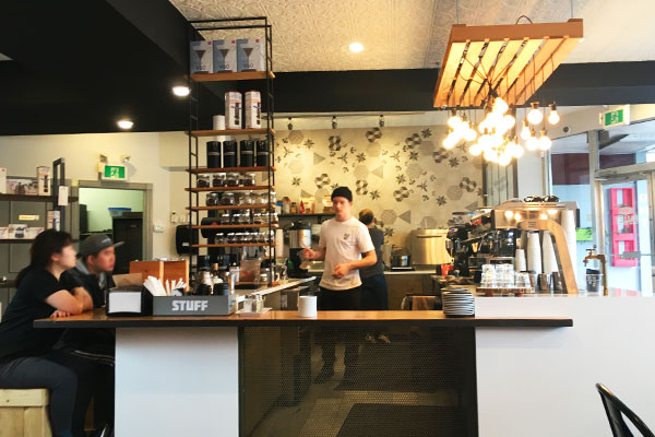 Pallet Coffee Roasters 店内