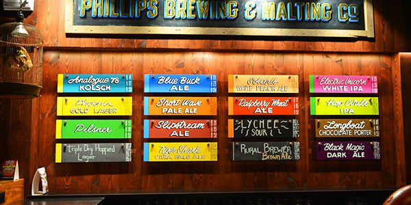Phillips Brewing & Malting Co.でビールを飲んできた in ビクトリア