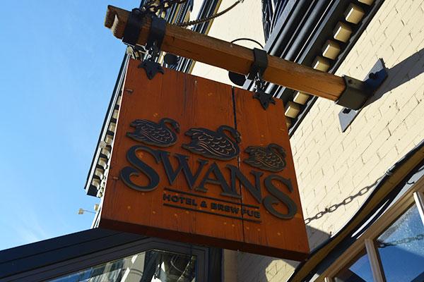 SWANS HOTEL, BREWERY & PUB