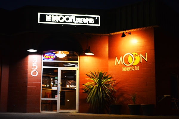 The moon brew pub