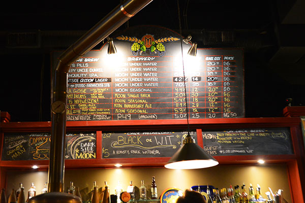 The moon brew pub